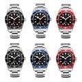 Corgeut 41mm Heren Automatische Horloge, Saffierglas Lume Mechanische Horloge Miyota 8215 Mov 'T Vouwsluiting Horloges CA2010D