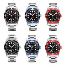 Corgeut 41mm Mens Automatic Watch, Sapphire Glass Lume Mechanical WristWatch Miyota 8215 Mov't Deployment Buckle Watches CA2010D цена и фото