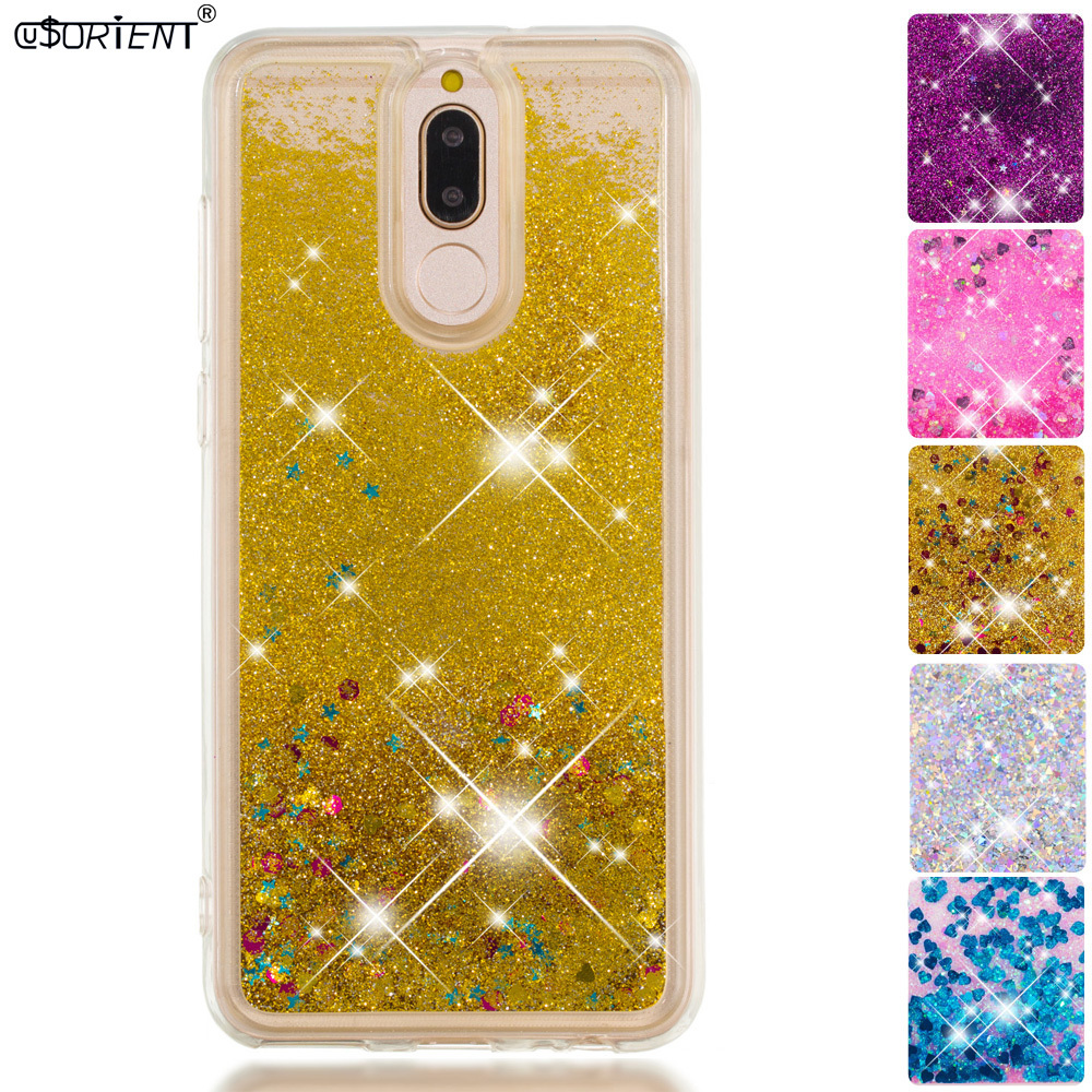 Methodical For Huawei Mate 10 Lite Nova 2i Bling Glitter Dynamic Quicksand Liquid Case Rne-l21 Rne-l01 Rne-l22 Rne-l23 Silicone Phone Cover To Reduce Body Weight And Prolong Life Half-wrapped Case Phone Bags & Cases