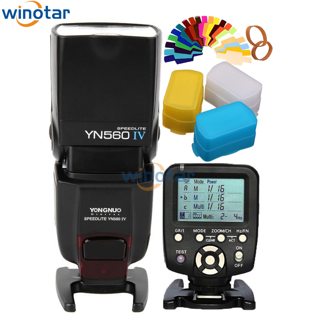 Yongnuo YN-560 IV YN560IV YN560 IV Universal Wireless Flash Speedlite + YN560-TX trigger For Canon 760D 750D 70D 60D 7D 5D DSLR византийская армия iv xiiвв