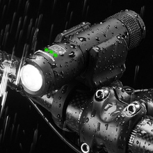 ROCKBROS Ultralight Cycling Bike Light USB Rechargeable Bicycle Light 2600 MhA Battery Power Bank Waterproof 700Lumen Lamp цены