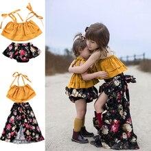 Matching Summer Sister Girls Off Shoulder Floral Dress clothes