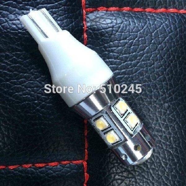 10x Yellow Red 50W High power  w16w t15 9v-24v LED Bulbs for Car Back Up Backup Reverse Light Lamp free shipping