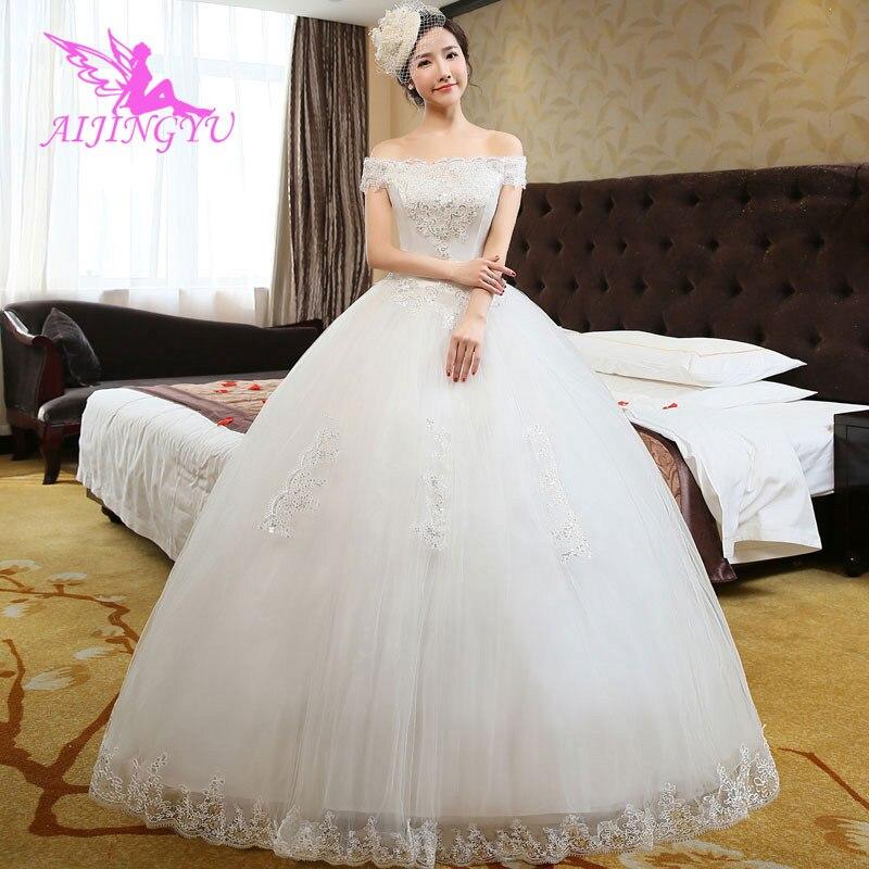AIJINGYU Dresses Gown Dress Long Wedding Gowns 2018 WU123