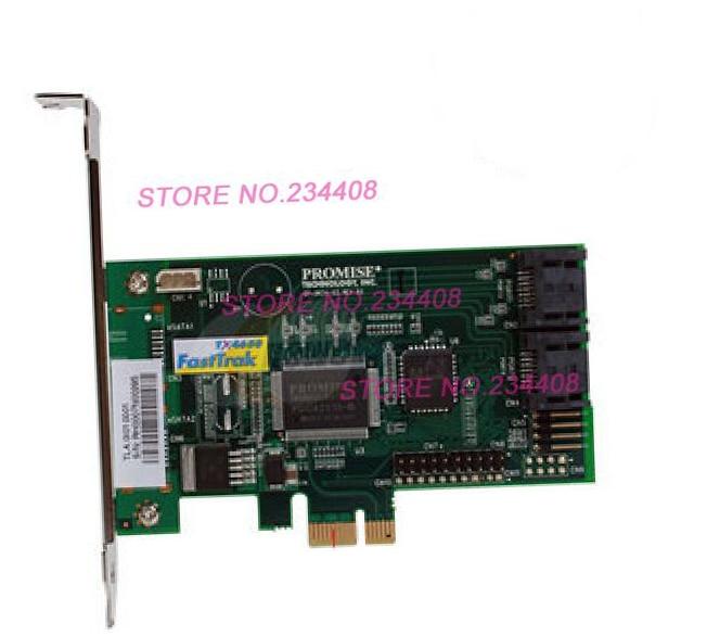 ФОТО Bramd New Promise FastTrak TX4650 SAS Array Card RAID 5 Warranty For 3 Years