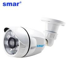 Akıllı AHD kamera 720P 1080P açık sokak su geçirmez IP66 gündüz & gece güvenlik kamerası CCTV 6 adet Nano led Camaras de Seguridad