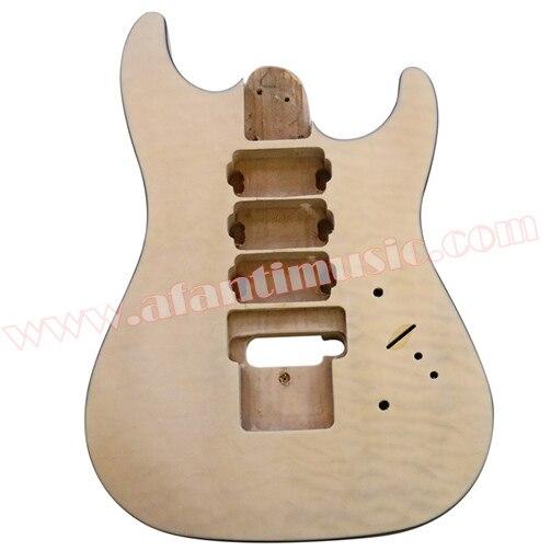 Afanti Music DIY guitar DIY Electric guitar body (ADK-087) afanti music diy guitar diy electric guitar body adk 099