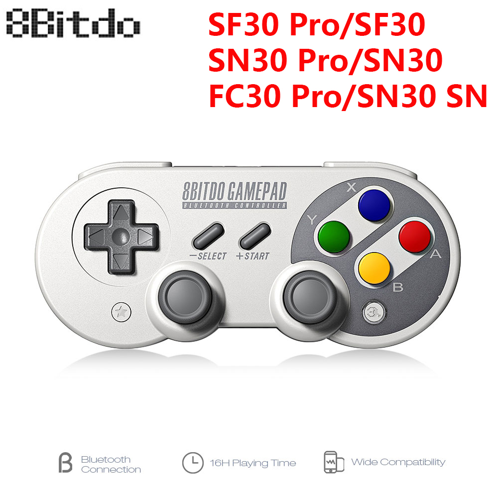 ᗐ New! Perfect quality 8bitdo bluetooth game controller and