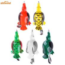 1Pc Fishing Lure Artificial Duck Soft Bait Sinking Fishing Wobblers Frog Lure Baits Pesca Carp Fishing Accessories 13g 6.5cm(China)