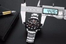 NIBOSI Homens Grande Mostrador do Relógio Do Exército Militar Esportes Relógios dos homens de Moda Ao Ar Livre relógios de Pulso de Quartzo Estilo Caminhadas Viajar