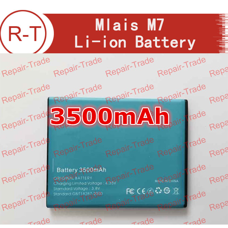 Mlais M7 Battery Brand New Original 3500mAh Li-ion Mlais M7 Battery Replacement for Mlais M7 and Mlais M7 plus Smart Phone