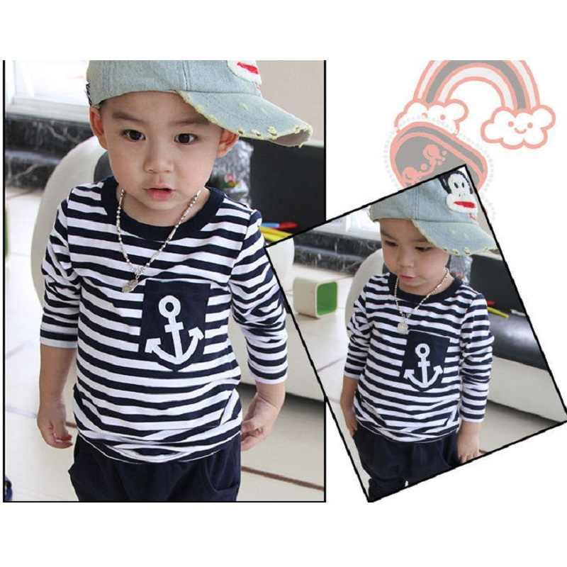 0aef1d1180e4 ... Морской флот Sailor Обувь для мальчиков спортивные Костюмы комплект  детской одежды для мальчика Детский спортивный костюм