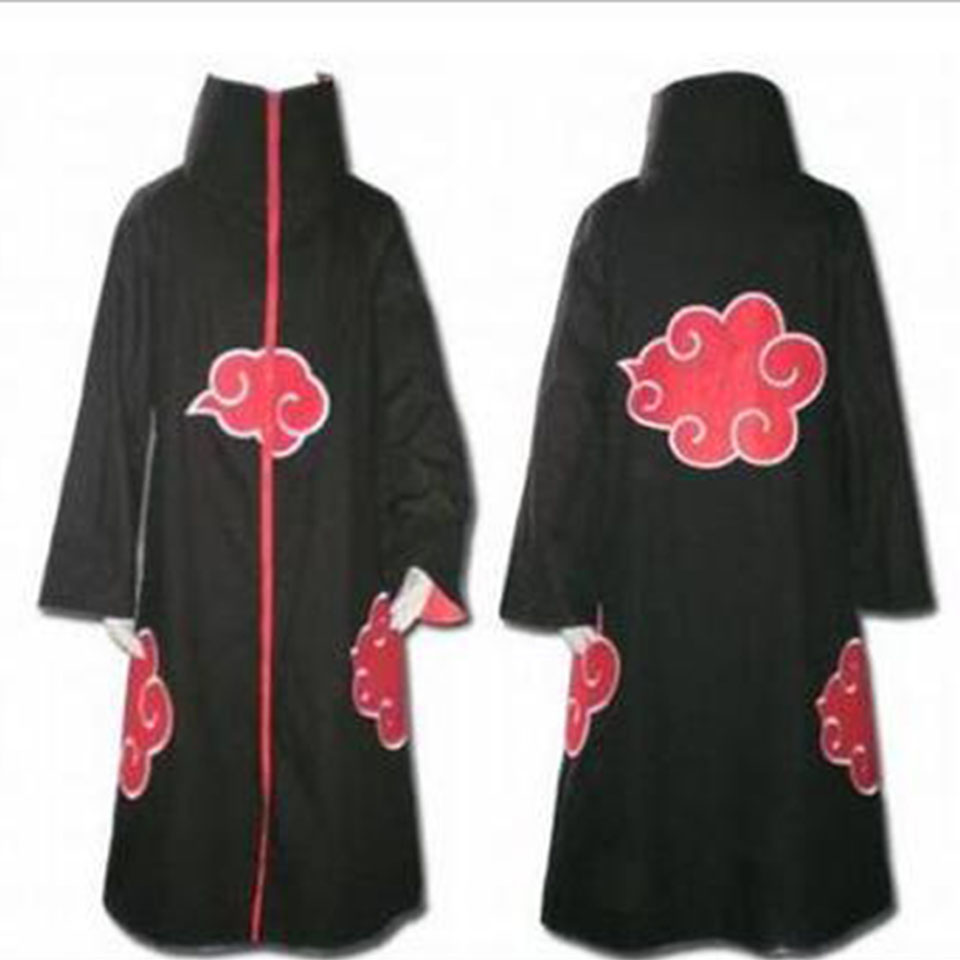 Anime Naruto Akatsuki Cosplay Costumes men/women naruto costume sasuke uchiha cosplay itachi clothing anime cloak cosplay