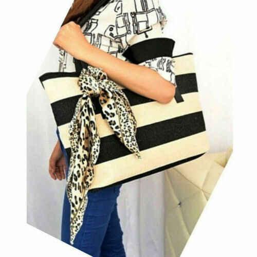 حار النساء سيدة محمول حقيبة كتف حقيبة نايلون حقيبة الأزياء حقيبة المرأة قدرة كبيرة من أكياس السيدات مخطط حقائب