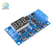 Trigger Cycle Timer Delay Switch 12 24V Circuit Board MOS Tube Control Module Replace Relay Timer Relay Switch Module 6 30v relay module switch trigger time delay circuit timer cycle adjustable