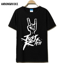 Camiseta рок homme летом футболка коротким футболки мужской рукавом мужская хлопок