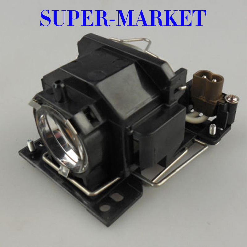 High Quality projector Lamp with housing DT00821 For Hitachi CP-X5/x3/X264/X3W/X5W/X6/X6W Projector high quality brand new projector bare bulb dt00821 for hitachi cp x5 x3 x264 x3w x5w x6 x6w projector 3pcs lot