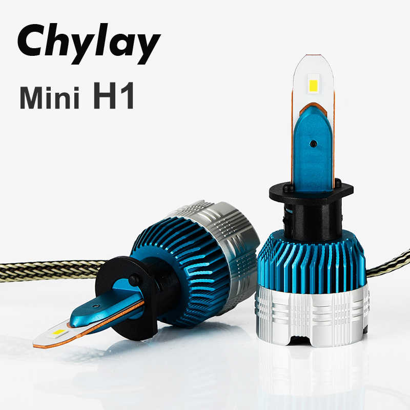Chylay H1 LED Light H7 H4 H11 H8 H3 HB4 HB3 6000Lumen Mini LED replacement bulb for Car Headlight Bulbs & Fog light 6000K White