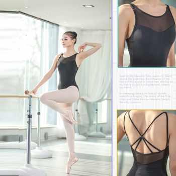 Ballet dancewear Ballet Leotards For Women Pure Cotton Black Ballet Dancewear Adult Dance Practice Clothes Gymnastics Leotards - DISCOUNT ITEM  30% OFF All Category