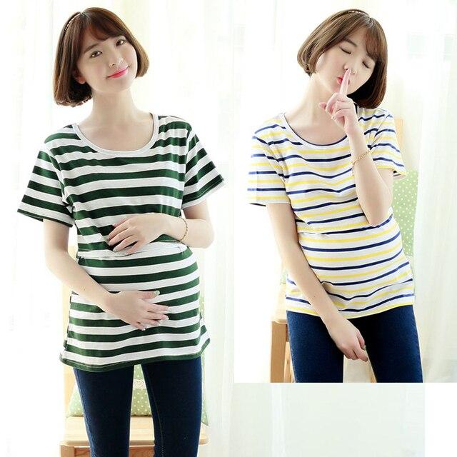 MamaLove Одежда Для Беременных топы Материнства кормящих одежды Кормящих топы Грудное Вскармливание Топы беременность одежда для Беременных