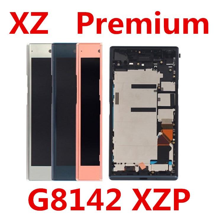 Écran LCD pour Sony Xperia XZP XZ Premium G8142 G8141 écran tactile 5.5 pouces numériseur assemblée 3840*2160