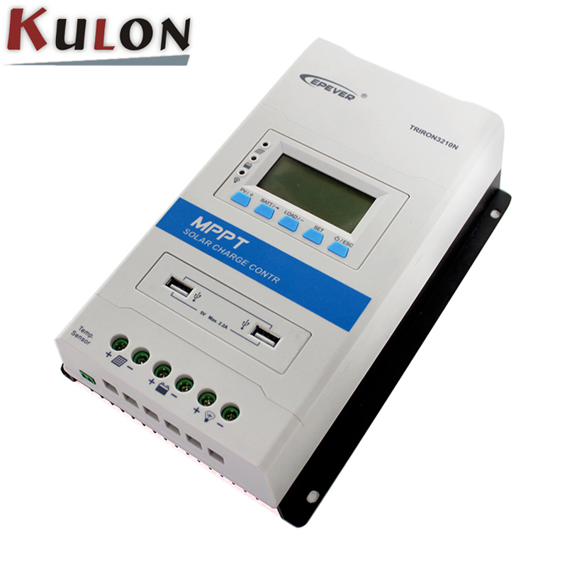 EPever TRIRON 3210N no modules need to buy separately 30A Solar Charge Controller LCD Modular Solar