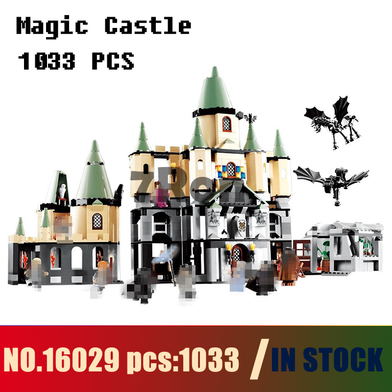 Models building toy 16029 1033pcs Movie Series Magic Castle Building Blocks Compatible with lego 5378 toys & hobbies