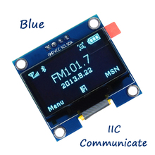 1PCS 1.3 OLED module blue color 128X64 inch LCD LED Display Module IIC I2C Communicate