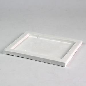 Image 3 - シリコーントレイ型手作り正方形セメント板の金型