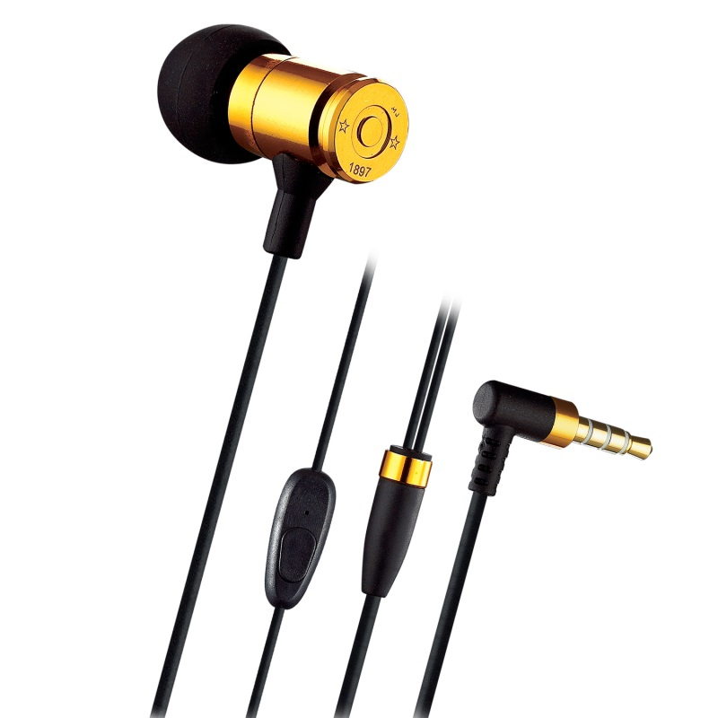 Professional Earphone Metal Heavy Bass Music Earpiece for Ulefone Gemini / U008 Pro / Metal Lite Headset fone de ouvido With Mic