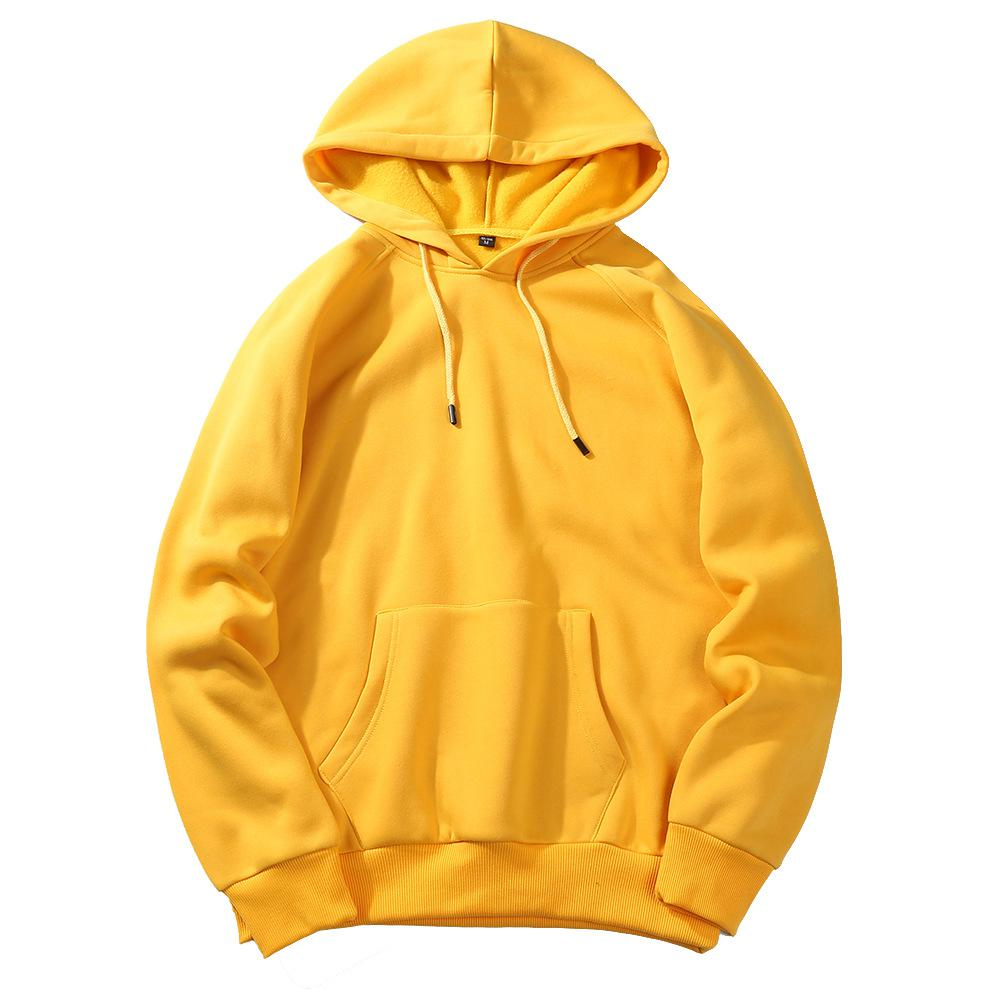 Men's Sportswear Long Sleeve Workout Tops Mens Sports Jackets Gym Sweater Shirts Sport Hoodies For Autumn Training Europe Size - Цвет: yellow