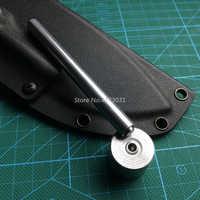 1set di strumenti + 100pcs rivetti Kydex Fondina nail strumenti di Installazione con il Nero In Ottone unghie