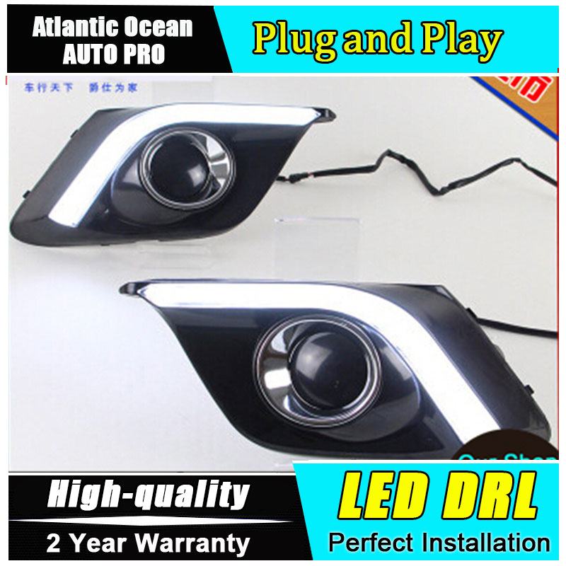 AUTO PRO car styling new 2014 For Mazda 3 Axela led Daytime Running Light led Fog light High Quality NEW LED DRL Car Accessories