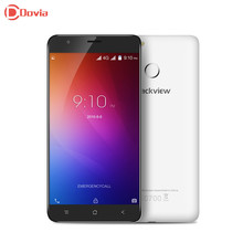 Blackview e7 4 г 5.5 «hd отпечатков пальцев смартфон android 6.0 mtk6737 ouad основные 1.3 ГГц мобильного телефона 1 ГБ + 16 ГБ 8mp 2700 мАч мобильного телефона