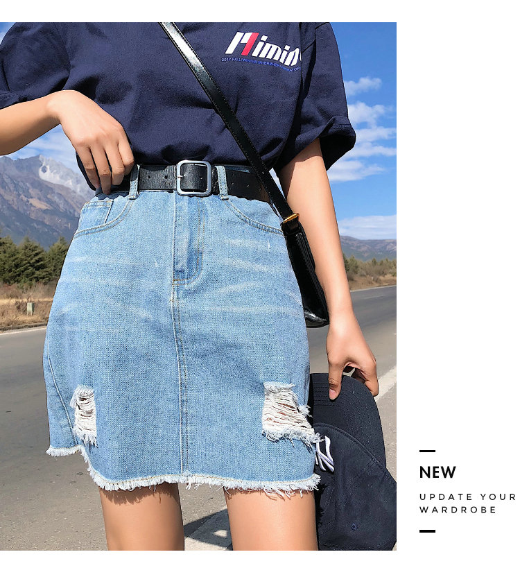 BOBOKATEER Plus Size Denim Skirt Women Skirts Womens Summer Sexy Mini High Waist Black Jean Skirt Female Jupe Falda Fashion 19 4