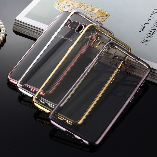 S8&S8 Plus Super Clear Slim Case for Samsung Galaxy S8