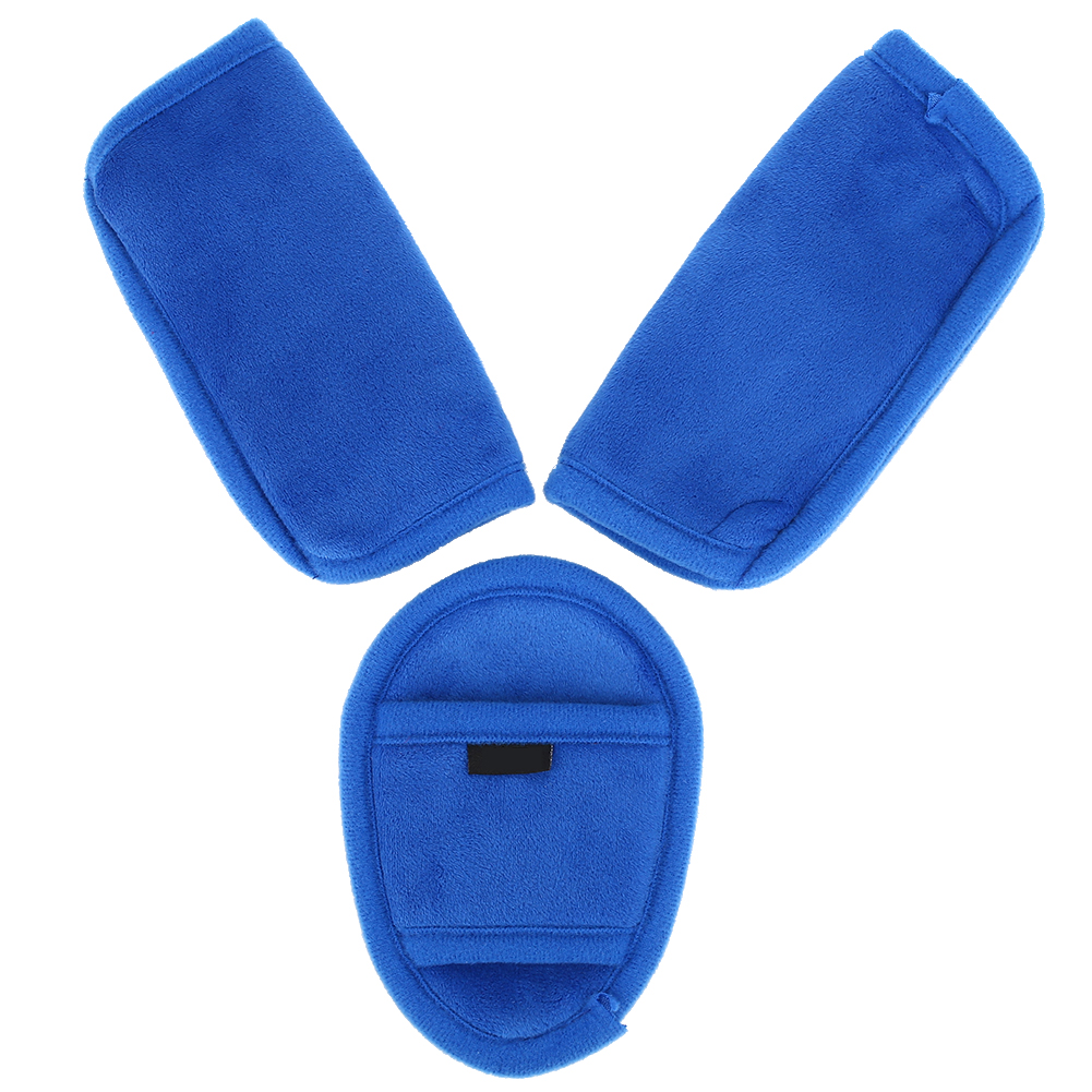 Детская коляска, автомобильное сиденье, ремень безопасности, наплечный ремень, защитный чехол - Цвет: blue