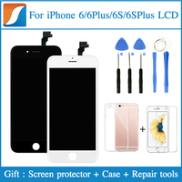 Grade AAA 3PCS LOT For IPhone 6S LCD Assembly Screen Replacement With 3D Touch Display Quality