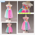 2016 New Flowers Dress For Girls For Wedding and Party Summer Baby Clothes Princess Party Kids Dresses For girls dress