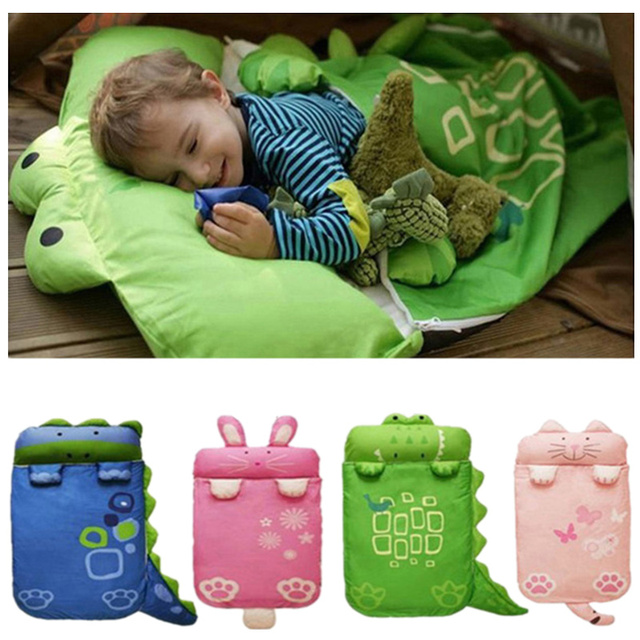 Baby Bedding Sleeping Bags Kids Sack Infant Toddler Winter Bag Cartoon Animals Sleep