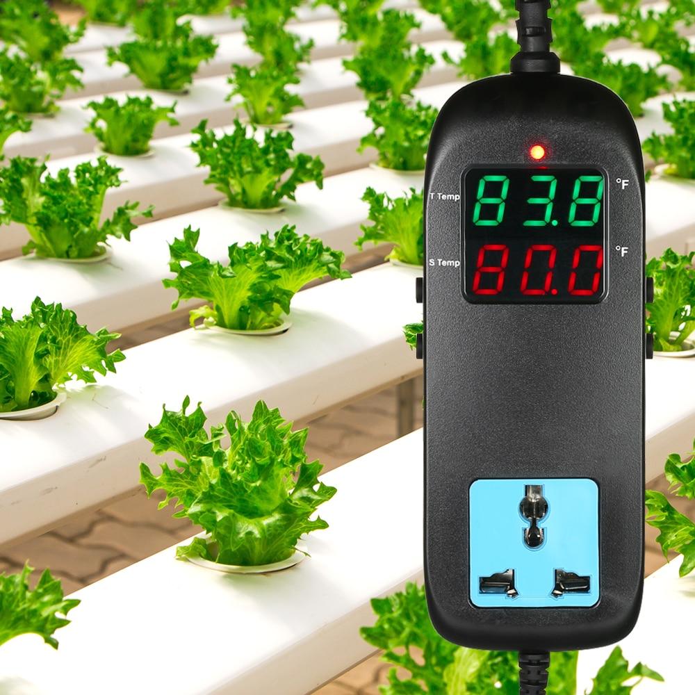 LED Digitale Temperatur Controller Thermostat mit Temperatur Sensor für Automatische Heizung Kühlung Control AC90V ~ 250 V