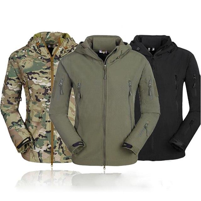 Tactical Motorcycle Jackets Waterproof Racing Jersey Camouflage Hunting Camping Thermal Fleece Lining Coat Mountain Wear jacketjacket waterproofjacket jacketjacket motorcycle jacket