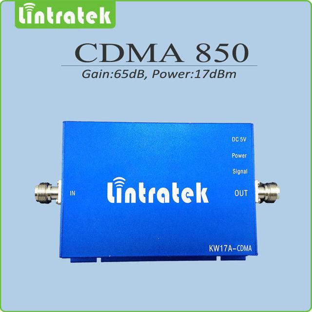 Repetidor cdma 850 mhz repetidor de celular 850 mhz CDMA Ganancia 65dB amplificador de señal celular Amplificador de señal móvil para el hogar