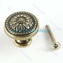 Ретро 25×25 мм Дверная Ручка Ручка Замена Для Ванной Шкаф Шкаф Ящика # H028 #