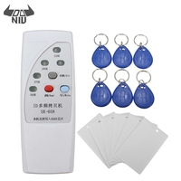 DANIU SK 658 13Pcs 125KHz RFID ID Card Reader Writer Copier Duplicator With 6 Cards Tags