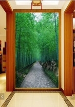 3d room wallpaper custom mural non-woven Wall sticker Fresh bamboo forest trail porch paintings photo wallpaper for walls 3d 3d wallpaper custom mural non woven room wall sticker sunset scenery fishing boat paintings photo 3d wall murals wallpaper