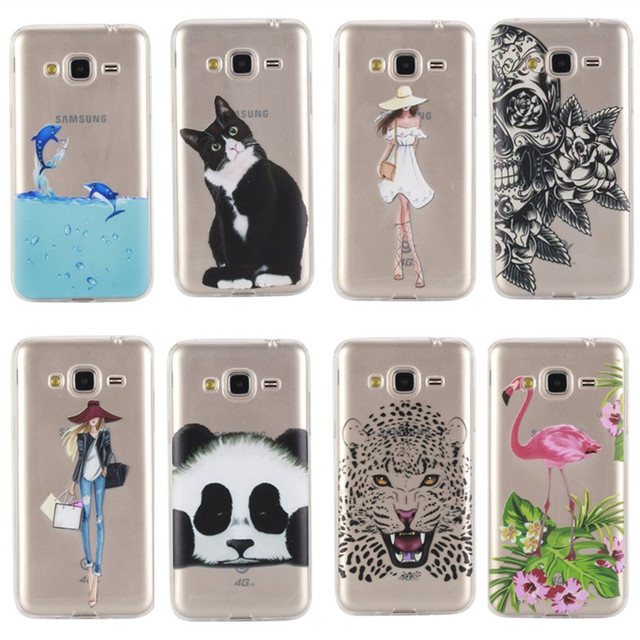 Cover Case For Samsung Galaxy J3 2016 Silicone Lovely Cute