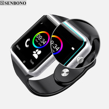 Smart Watch With Camera Bluetooth