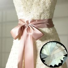 Wedding Bridal Satin Ribbon 5cm Duble Faced Satin Ribbon Choose Color 3 Yard