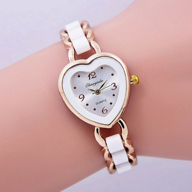 2016 luxury brand Bracelet watches High Quality Shinning Upstart Steel women wat